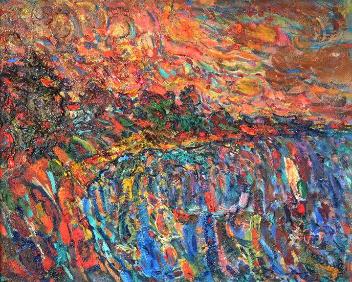 Evening Beach - Nikolay Malafeev