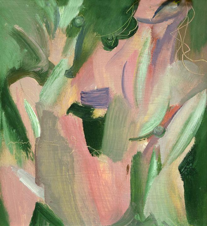 Green and Pink - Nikolay Malafeev