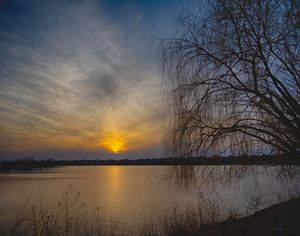 Farmington Lake Oswego Illinois - Sunset Awe