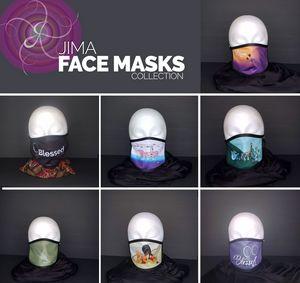 Jima's Face Mask Collection - Jima
