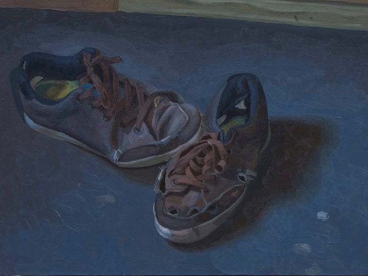 Worn-out sneakers - Modern Ukrainian Art