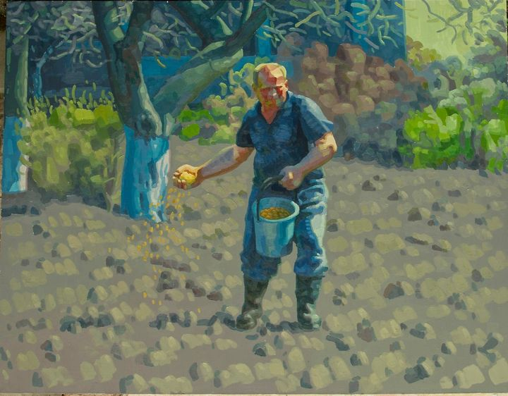Sower - Modern Ukrainian Art