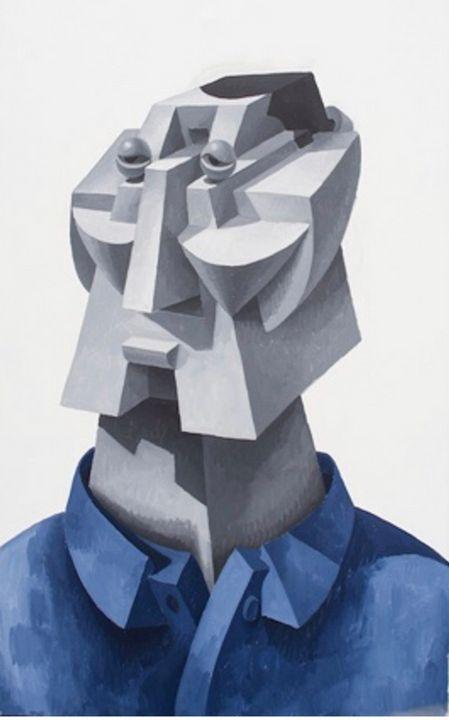 Oleksey's Portrait - Modern Ukrainian Art