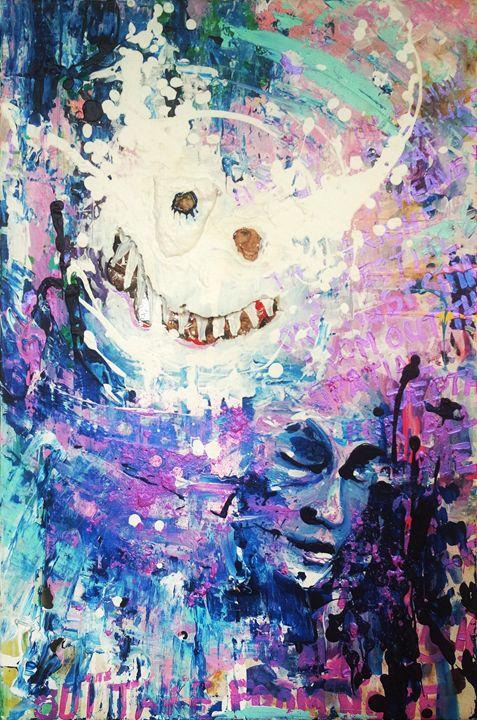 A Mask Behind The Mask - Antae Arts