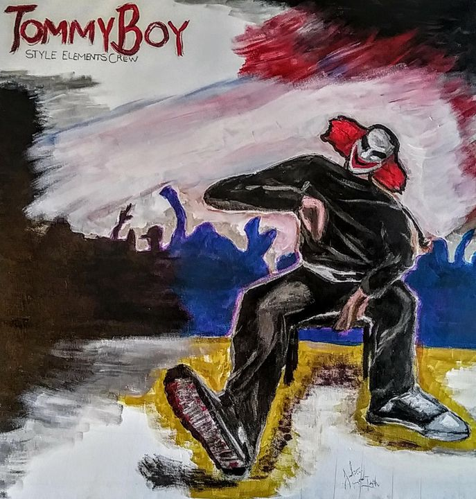 Tommy Boy of Style Elements Crew - Justo SoulTruth