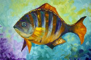 What do fish think about?