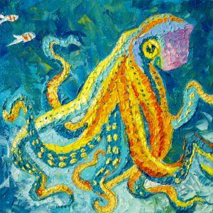 One fun octopus