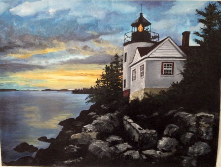 Light House at Sunset - Patrick Betley
