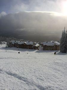 Big White Mountain Skiiing Resort