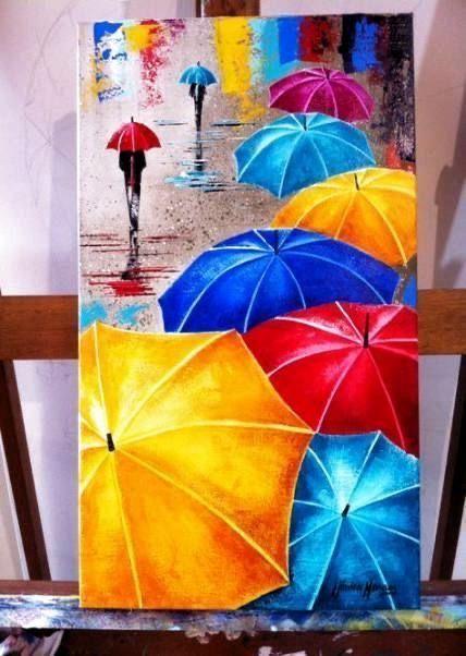 Umbrellas - Colours of Lina