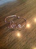 Custom Love Bracelet