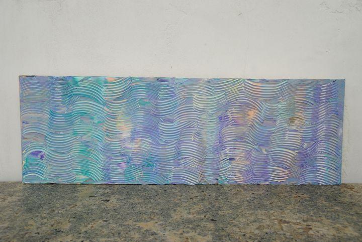 LAVENDER WAVES - OrangeThumbprint