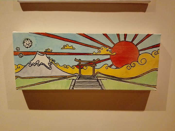 Japanese pop landscape - Jack Sloane