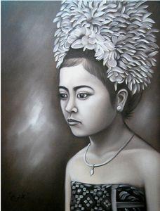 70 cm x 90 cm Oil Painting