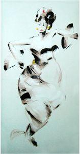 24x47 inch Acrylic Dancers
