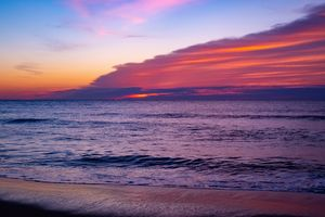 Magenta Beach