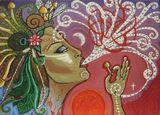 Nature Goddess Painting