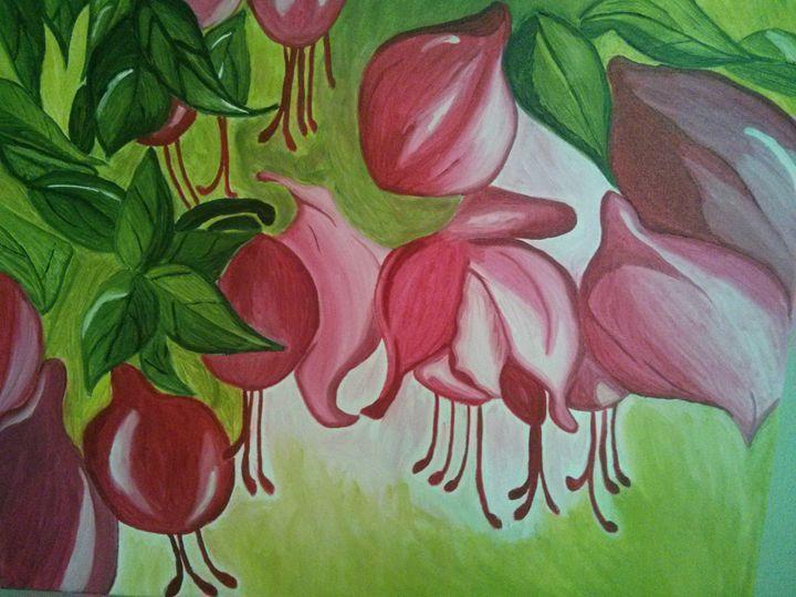 Flower garden - Mary-Jo Amato
