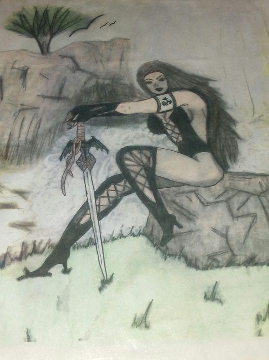 Warrior - Maldonado Arts