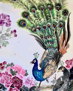 Peacock Peony