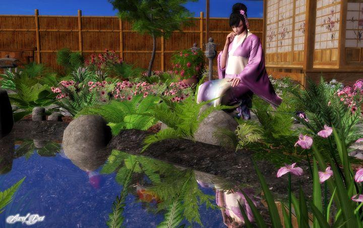 Relaxing Garden - Older 3D Artrowk