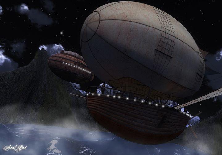 Overnight Sail - Older 3D Artrowk
