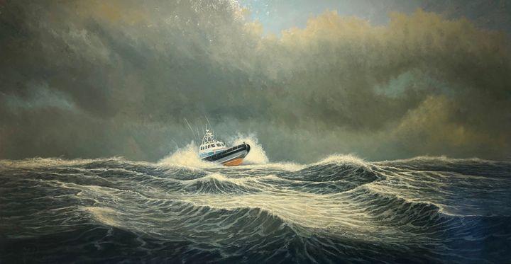 KNRM - Galerie De Reede Van Tessel - Gerd Jan Roos -Texel