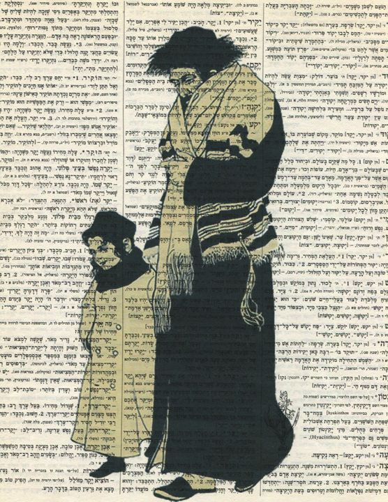 SHABATT-hebrew dictionary print - decoart