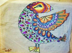 Bird of a colorful mind - Buniquelyou