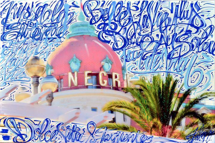 NEGRESCO in blue - Rivierakris