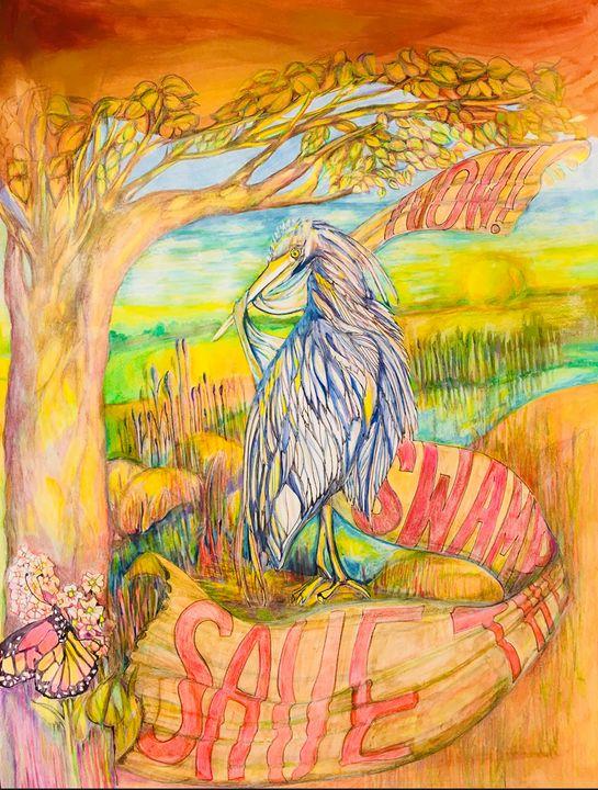 Save the Swamp - Collura Art