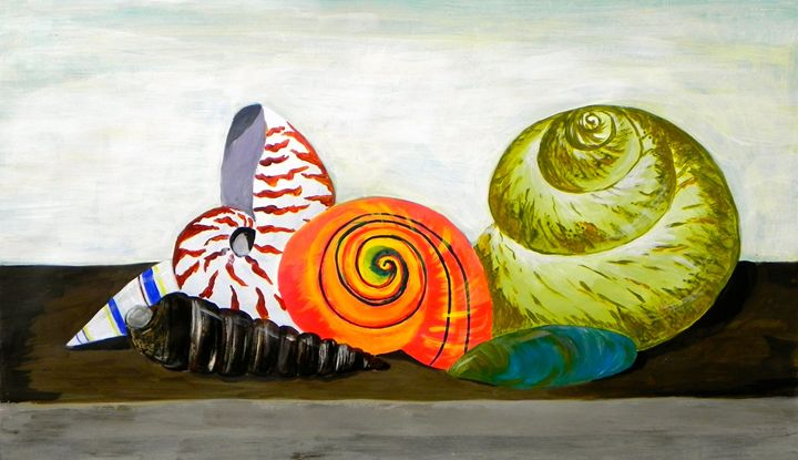 Still life with seashells #2 - Amruta