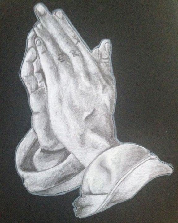 Praying Hands - Lyndsay's Sketches