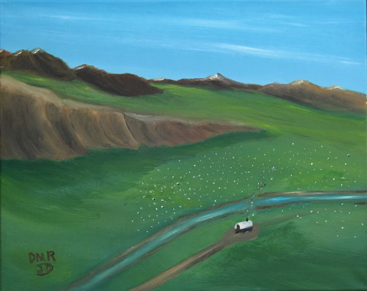 Summer Pastures - Richersd Art Studios, LLC