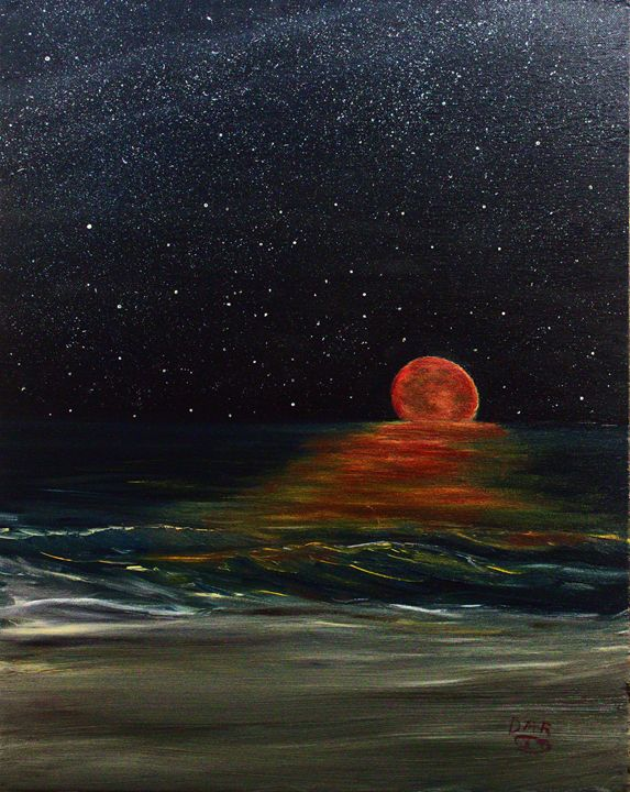 Bloodmoon - Richersd Art Studios, LLC