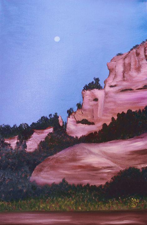 Along Hardscrabble Canyon Road - Richersd Art Studios, LLC