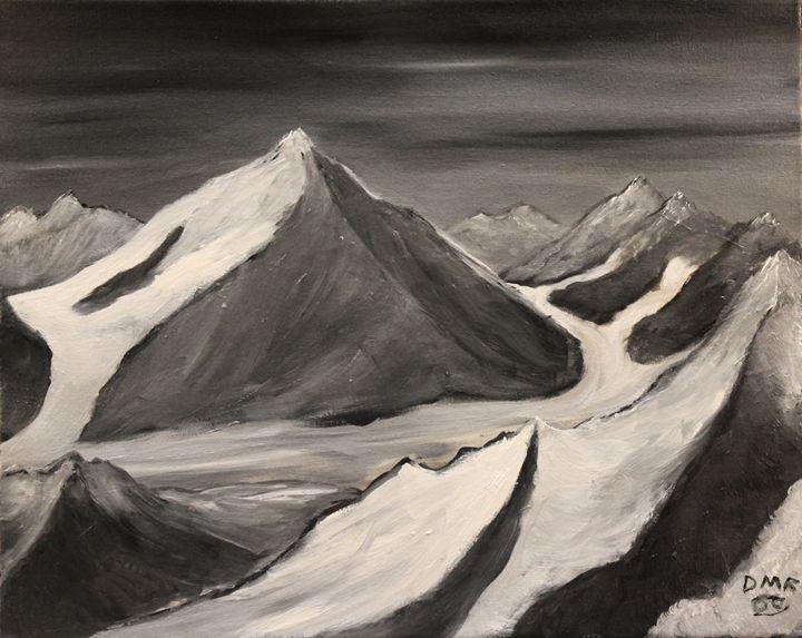 Rivers of Ice - Richersd Art Studios, LLC