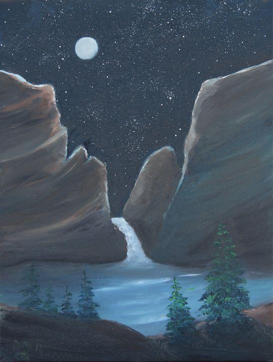 Waterfall - Richersd Art Studios, LLC