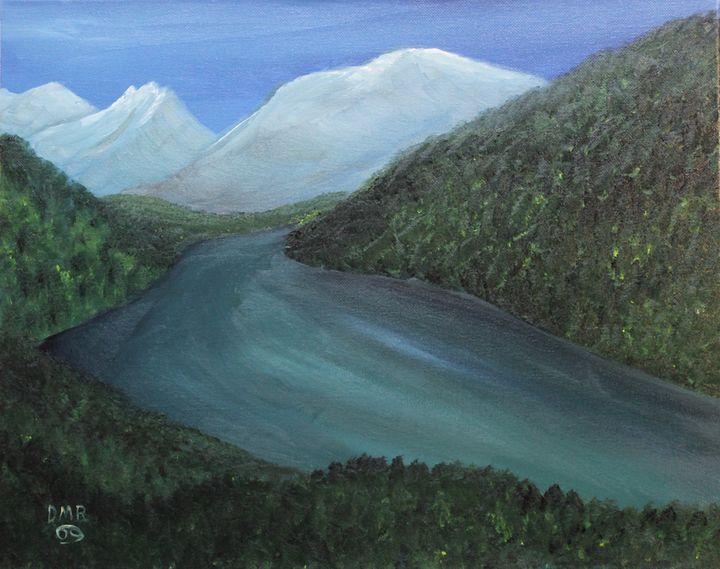 A northern river - Richersd Art Studios, LLC