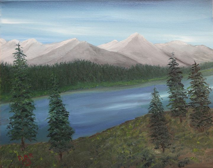 Mountain Solitude - Richersd Art Studios, LLC