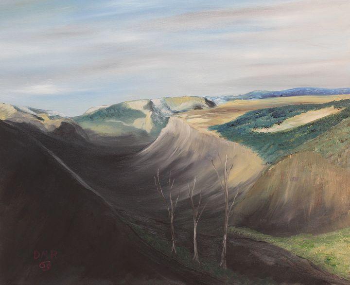 Heading to Beartooth Pass - Richersd Art Studios, LLC
