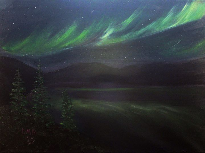 Northern Lights - Richersd Art Studios, LLC