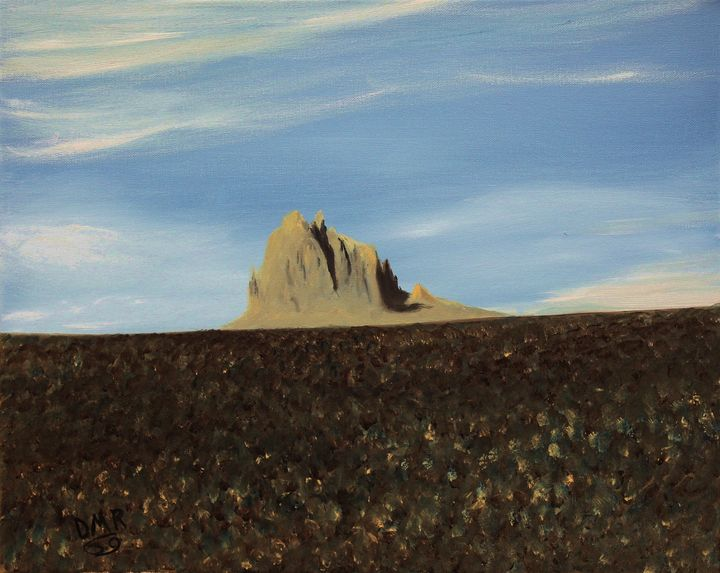 Morning at Shiprock - Richersd Art Studios, LLC