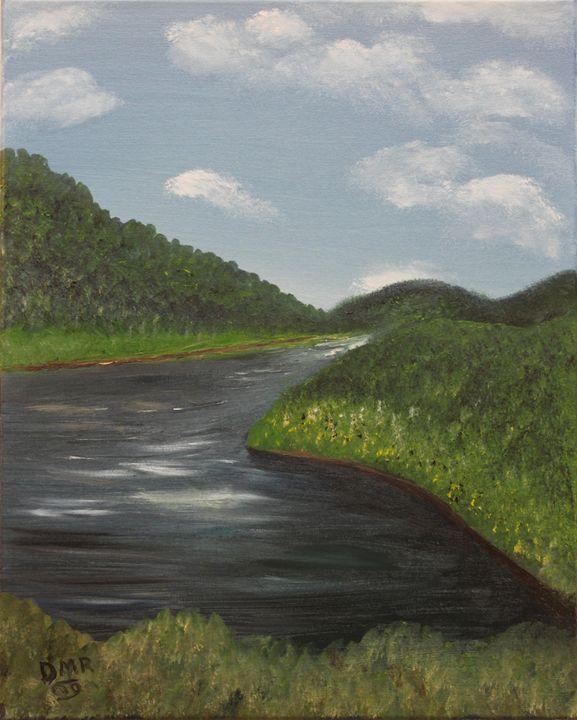 An Irish Stream - Richersd Art Studios, LLC
