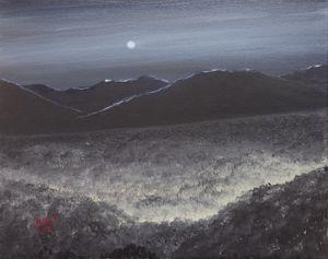 Under a Hazy Moon