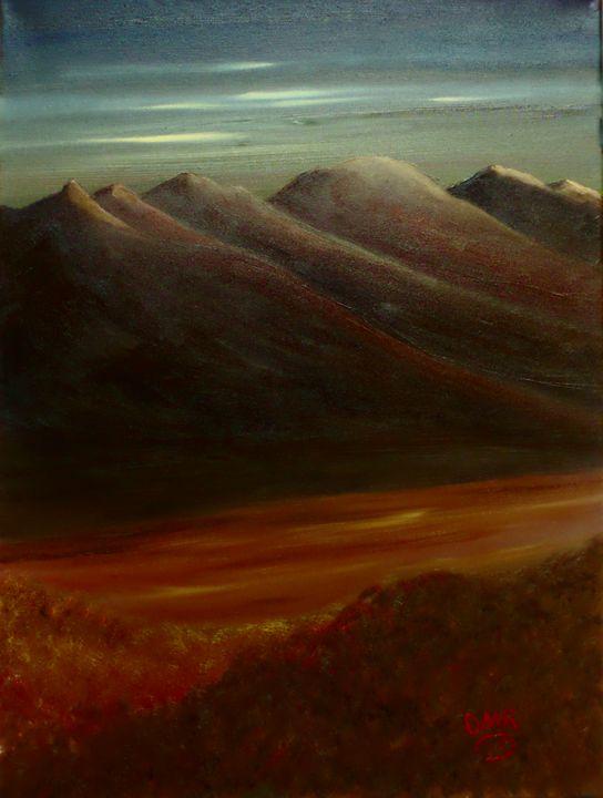 Desert Valley - Richersd Art Studios, LLC