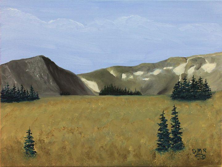 Snowy Range Pass - Richersd Art Studios, LLC