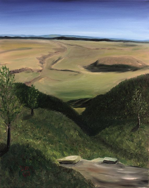Bighorn Basin Vista - Richersd Art Studios, LLC