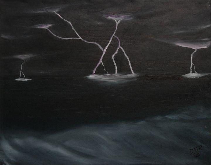 Stormy Surf - Richersd Art Studios, LLC