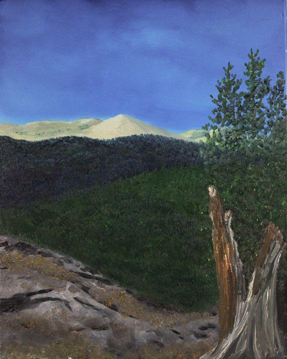 A view from Squaw Pass - Richersd Art Studios, LLC